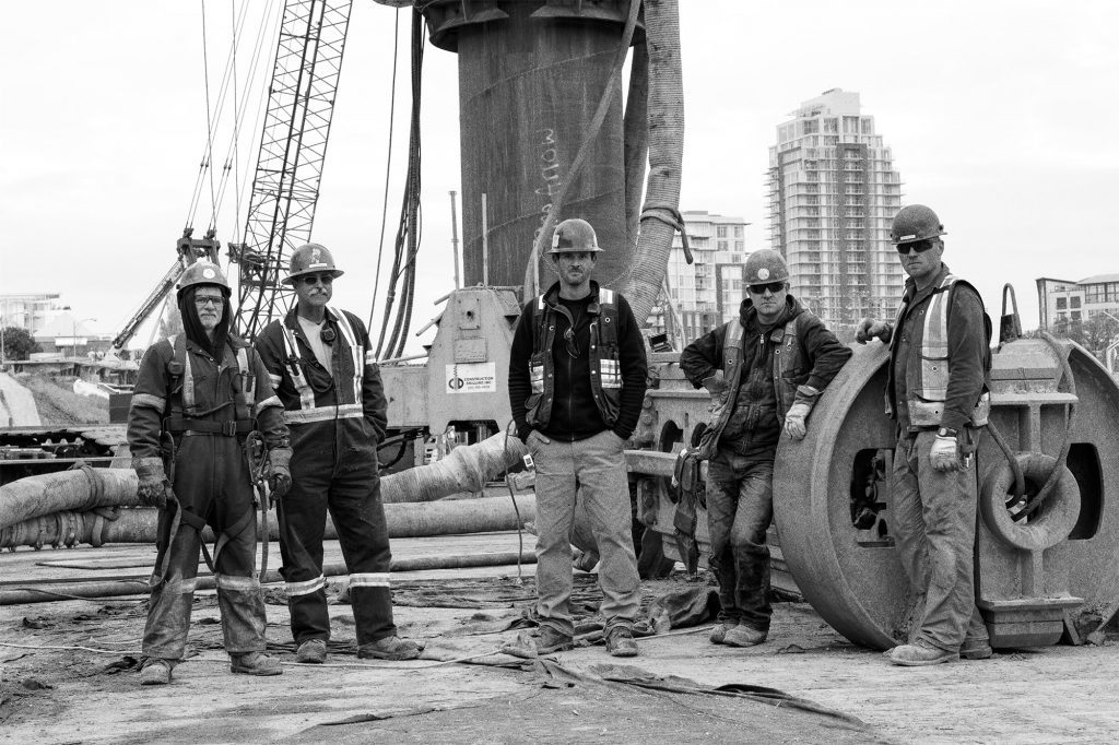 The team at Construction Drilling